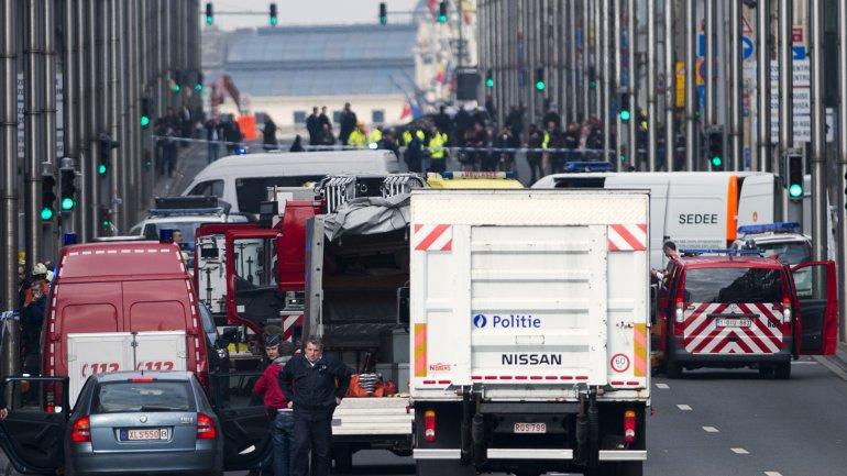 Bruselas fue el último objetivo de los terroristas islámicos. Al menos 34 personas fueron víctimas del fundamentalismo religioso