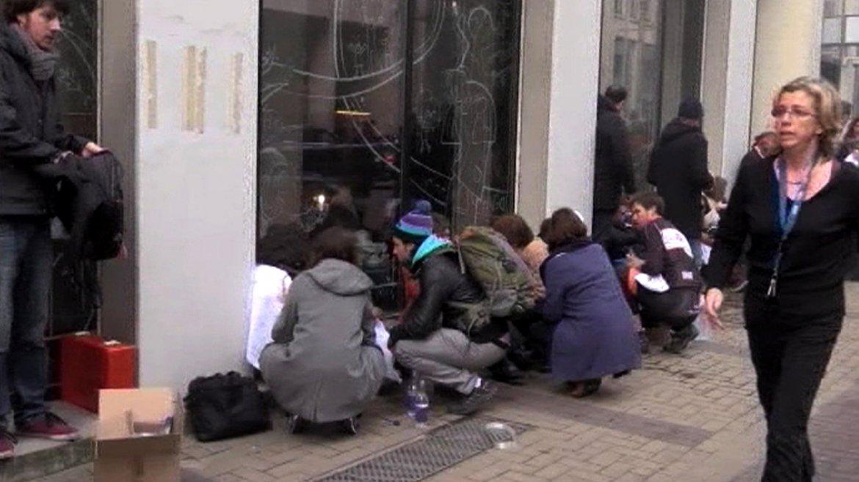 Las víctimas afirmaron que parecía una zona de guerra tras la explosión en el interior del metro.