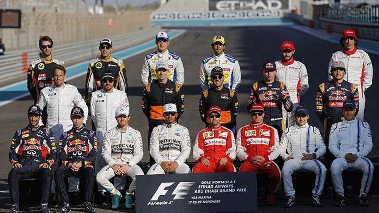Los pilotos de esta temporada de la Fórmula 1