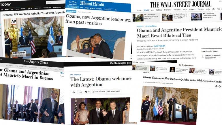 Las notas de los principales medios de Estados Unidos sobre la recorrida de Obama
