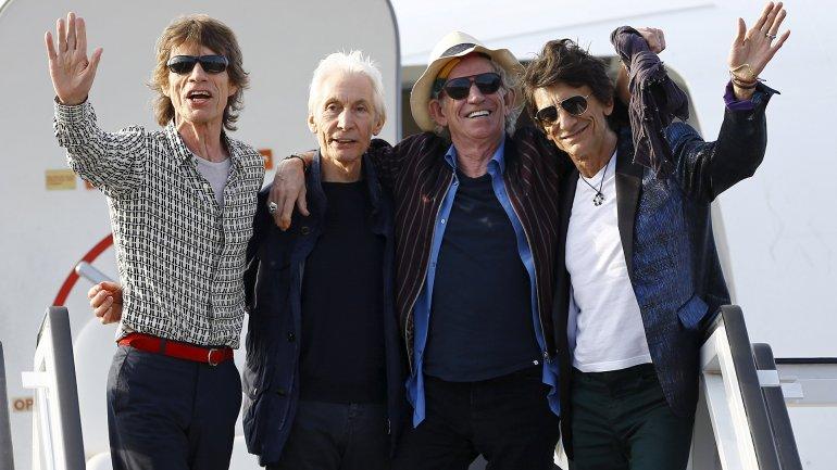 The Rolling Stones aterrizaron en La Habana