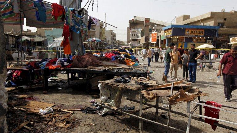 Atentado en Bagdad. Imagen de archivo