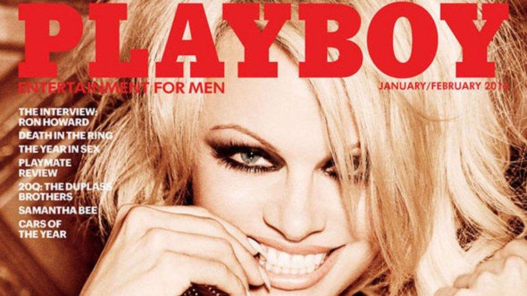 Playboy terminó con los desnudos con Pamela Anderson en su portada