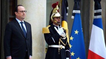 El presidente de Francia,François Hollande