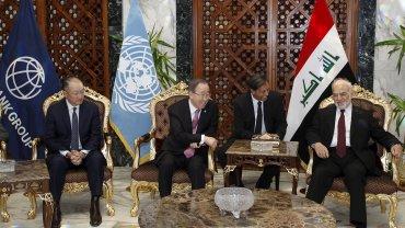 Ban Ki-moon en Irak