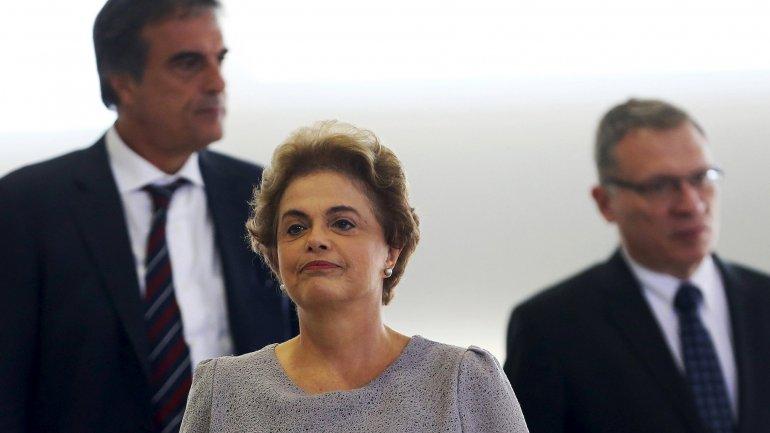 Dilma Rousseff atraviesa su peor momento desde que asumió la presidencia de Brasil