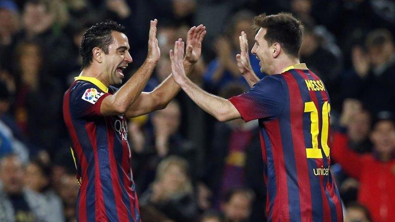 Lionel Messi y Haxi Hernández jugaron juntos 11 años en el Barcelona