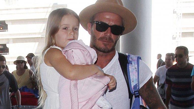 La demostración de amor de David Beckham a su hija Harper, de 4 años