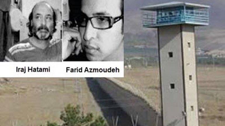 Farid Azmoudeh y Iraj Hatami están detenidos en la cárcel de Gohardasht