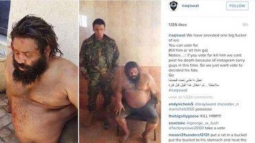 Los soldados iraquíes consultan a sus seguidores si los prisioneros terroristas deben ser ejecutados o no