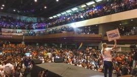 Lilian Tintori en elPalacio de Eventos de Maracaibo, Zulia