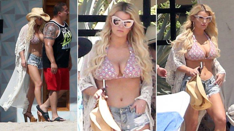 Las fotos divulgadas esta semana de Jessica Simpson en bikini