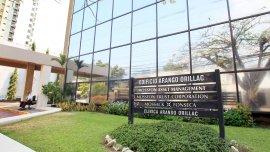 El edificio donde funcionan las oficinas de Mossack Fonseca
