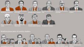 Algunos de los protagonistas de los Panamá Papers