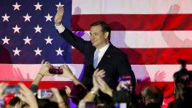 El senador por Texas busca quedarse con la interna republicana que lidera Donald Trump