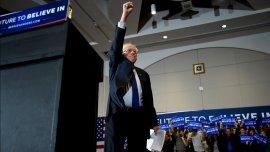 Bernie Sanders logró su sexta victoria consecutiva