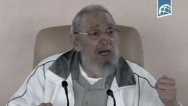Fidel Castro reapareció públicamente a los 89 años