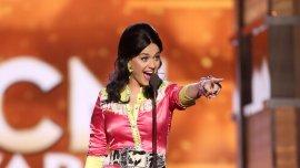 Katy Perry en los Premios de la Academia de Música Country en abril de 2016
