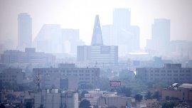 La contaminación ambiental vuelve a ser un problema fuerte en la capital mexicana.