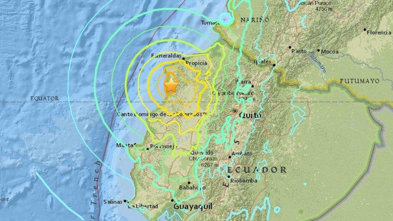El cantón turístico de Pedernales estuvo en el epicentro del terremoto que sacuió a Ecuador