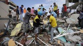 Unos 35 argentinos fueron afectados por el terremoto