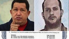Hugo Chávez, Adrián Velásquez y el documento que prueba su participación en la empresa