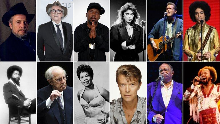 Las grandes personalidades de la música que murieron este 2016