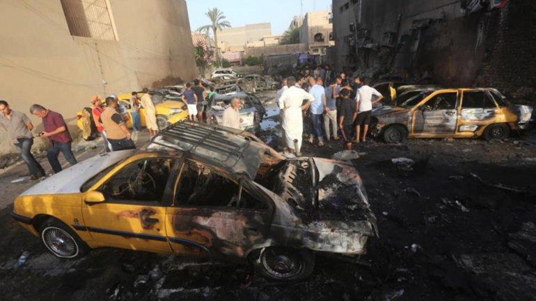 Se registraron dos explosiones bomba casi de manera simultánea. Imágen de archivo