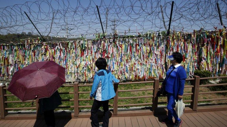 La tensión aumenta a ambos lados de la frontera entre Corea del Sur y Corea del Norte