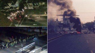 Apagones y protestas en Maracaibo