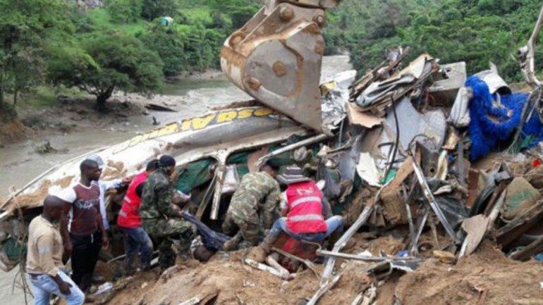 Las lluvias dejaron 14 muertos en Colombia