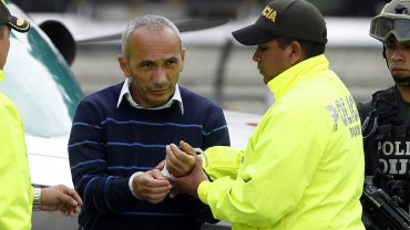El narcotraficante colombianoMarcos de Jesús Figueroa García, alias Marquitos, llegó a Bogotá desde Manaos