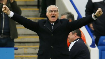 Claudio Ranieri conquistó su primer título de liga a los 64 años