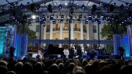 El evento se realizó en el jardín sur de la Casa Blanca, en Washington D.C.