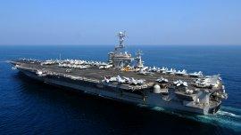 El USS John C. Stennis es un portaaviones nuclear de la clase Nimitz en servicio desde 1995