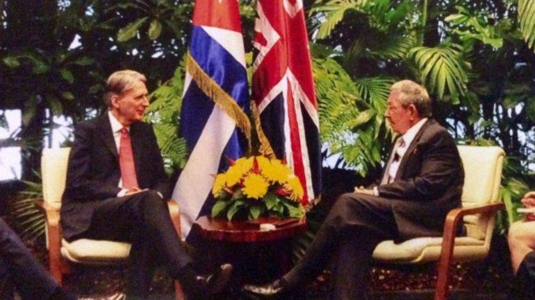 El canciller y el presidente formalizaron una quita de 8.500 millones de dólares de la deuda cubana