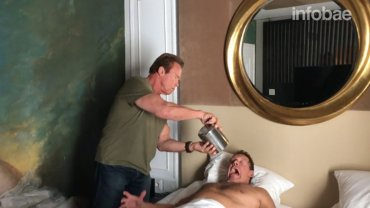 El despertador de Schwarzenegger