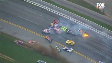 El incidente se produjo cuando restaban 29 vueltas para culminar la carrera