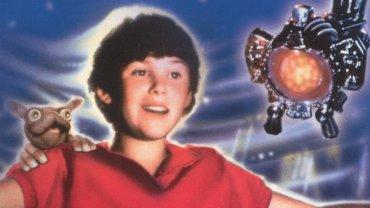 Joey Cramer en el póster de su película El vuelo del navegante. Fue rodada en 1986 cuando el actor era un pequeño de 13 años