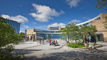 El campus de la Universidad de Waterloo, en Ontario.
