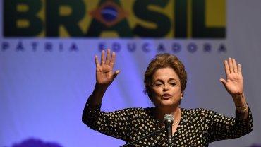 Dilma Rousseff está suspendida