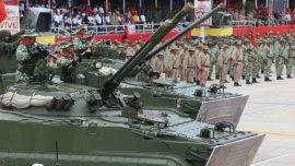 El ejército venezolano se prepara ante supuestas amenazas de intervención extranjera