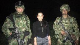 La abogada fue rescatada en un operativo del ejército y la policía de Colombia