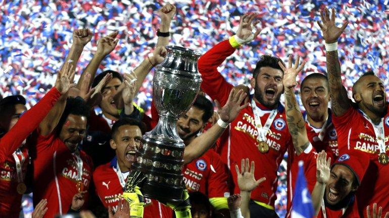 Chile consiguió su único título de Copa América en 2015