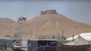 Rusia construyó una base militar en Palmira
