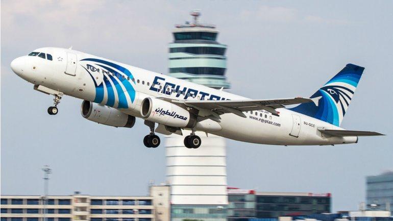 El vuelo MS804 de la compañía EgyptAir se estrelló en el mar Mediterráneo con66 personas a bordo