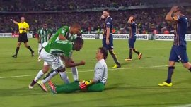Atlético Nacional le ganó 3-1 a Rosario Central y lo eliminó de la Libertadores