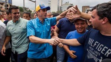 Henrique Capriles liderará la marcha ante el Tribunal Supremo de Justicia en Caracas
