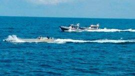 Se trata del primer semisumergible capturado en aguas colombianas