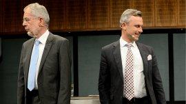 Alexander Van der Bellen, del Partido Verde, y Norbert Hofer, del Partido Liberal, compiten en segunda vuelta